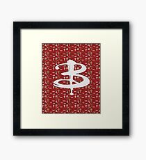 buffy pattern Framed Print