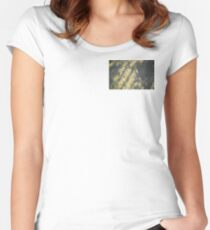 vertical vines Women's Fitted Scoop T-Shirt