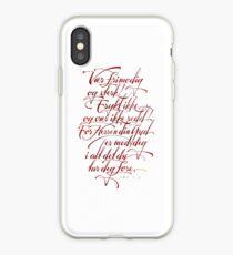 Vær frimodig og sterk iPhone Case