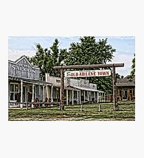Old Abilene Town Photographic Print