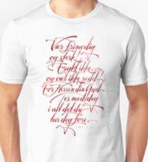 Vær frimodig og sterk Slim Fit T-Shirt