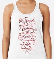 Vær frimodig og sterk Women's Tank Top