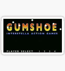 Gumshoe Sticker