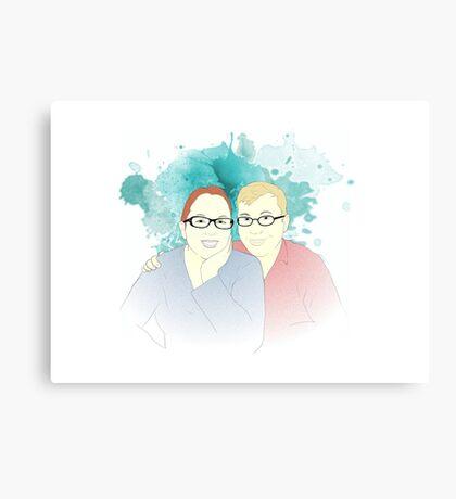 Adam & Tanya Canvas Print