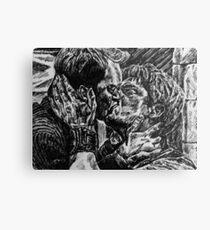 Jack Harkness and Ianto Jones-Janto  Metal Print