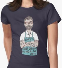 Be Nice To Your Barista Women's Fitted T-Shirt