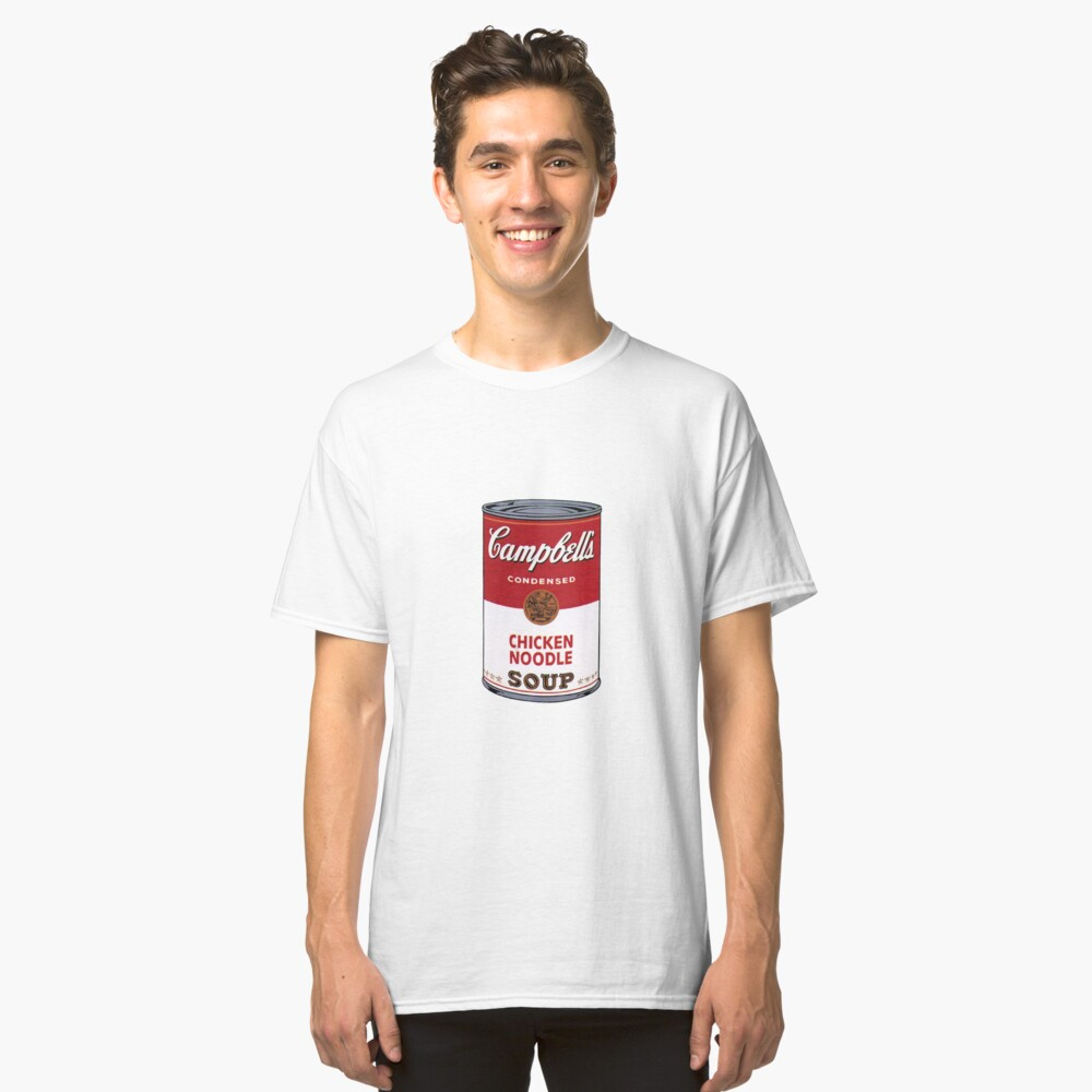 Campbell's Soup Can Classic T-Shirt Front
