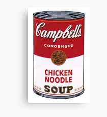 Campbell's Soup Can Canvas Print