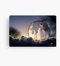 Dancing the sun to bed Canvas Print