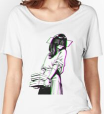 STUDY - Sad Japanese Aesthetic Women's Relaxed Fit T-Shirt