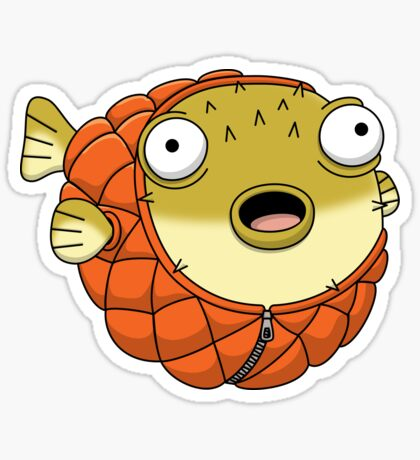 Puffer fish Sticker
