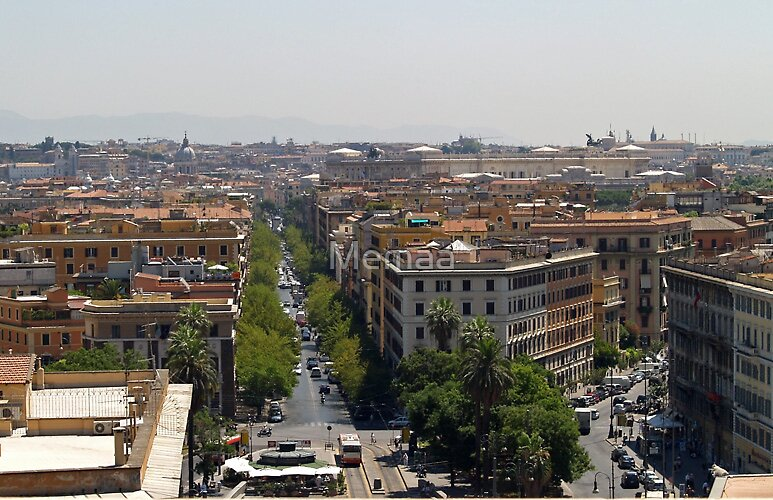 Rome Rooftops by Memaa