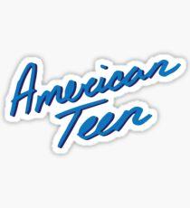 AMERICAN TEEN DARK BLUE Sticker