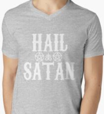 Hail Satan - 666 - Cross - Pentagram - Antichrist - Shirt T-Shirt
