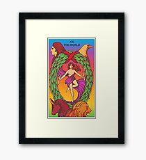 The World Tarot Framed Print