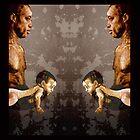 FATHER and SON - urban ART - mirror version by ARTito