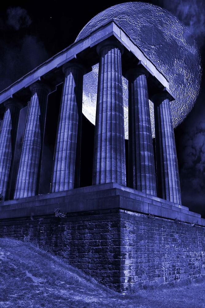 Calton Hill Folly - Edinburgh by milton