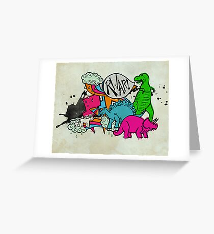 The meeting  Greeting Card