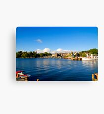 Bowness on Windermere (Toytown) Canvas Print