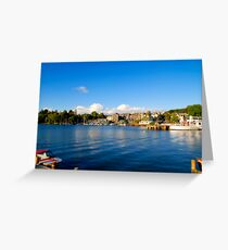 Bowness on Windermere (Toytown) Greeting Card