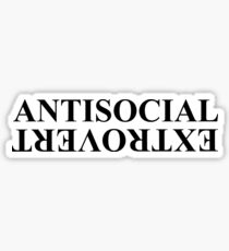 Kendrick Lamar Anti Social Extrovert Sticker