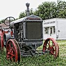 McCormick-Deering Tractor by Patricia Montgomery