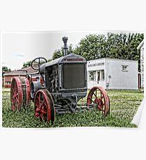 McCormick-Deering Tractor Poster