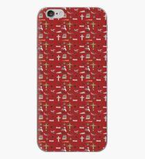 buffy pattern iPhone Case