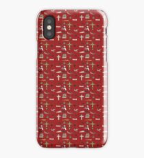 buffy pattern iPhone Case/Skin