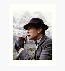 Sherlock Holmes - Jeremy Brett Art Print