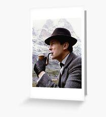 Sherlock Holmes - Jeremy Brett Greeting Card
