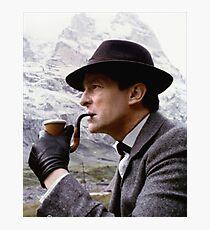 Sherlock Holmes - Jeremy Brett Photographic Print