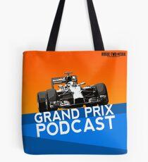 Grand Prix Podcast logo Tote Bag