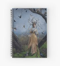 The Court Of The Dryad Queen Spiral Notebook