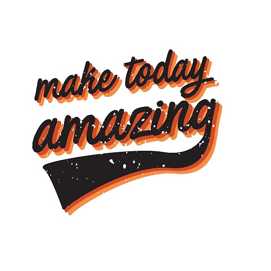 make today amazing in sf giant colours by CloudWalker Designs