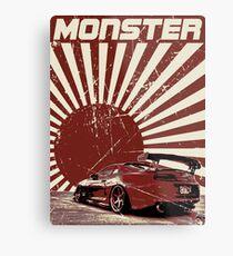 Monster Supra Metal Print