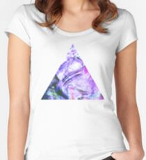Orchid Mist Women's Fitted Scoop T-Shirt