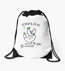 UNPLUG Drawstring Bag