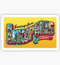 Greetings from Inkopolis Sticker