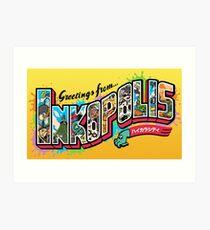 Greetings from Inkopolis Art Print
