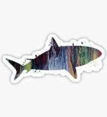 A shark! Sticker