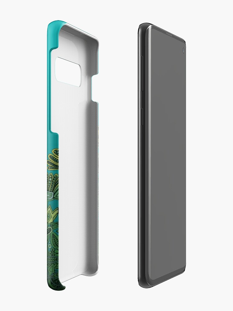 Alternate view of floral fox Case & Skin for Samsung Galaxy