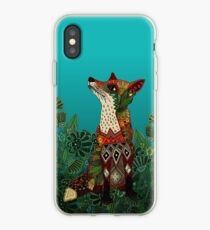 Blumenfuchs iPhone-Hülle & Cover