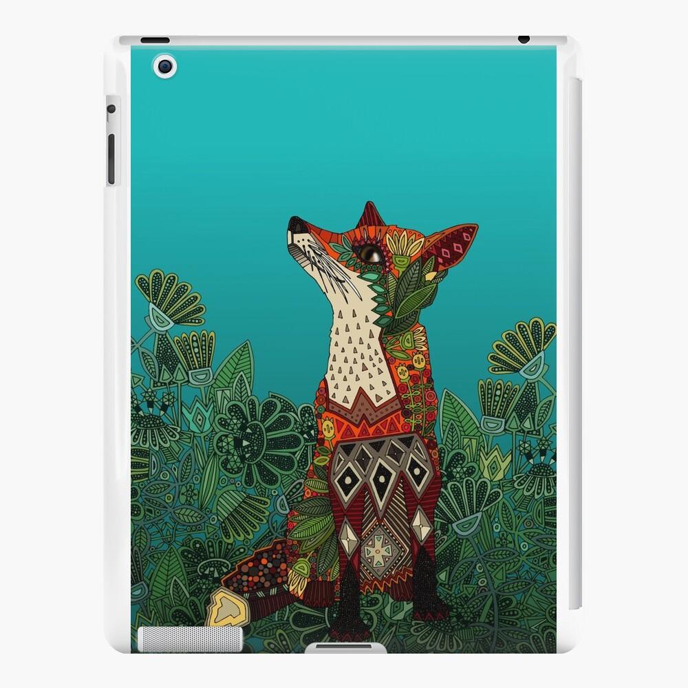 zorro floral Vinilos y fundas para iPad