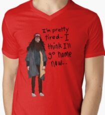I Think I'll Go Home Now... Men's V-Neck T-Shirt