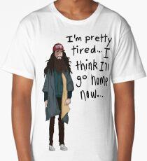 I Think I'll Go Home Now... Long T-Shirt