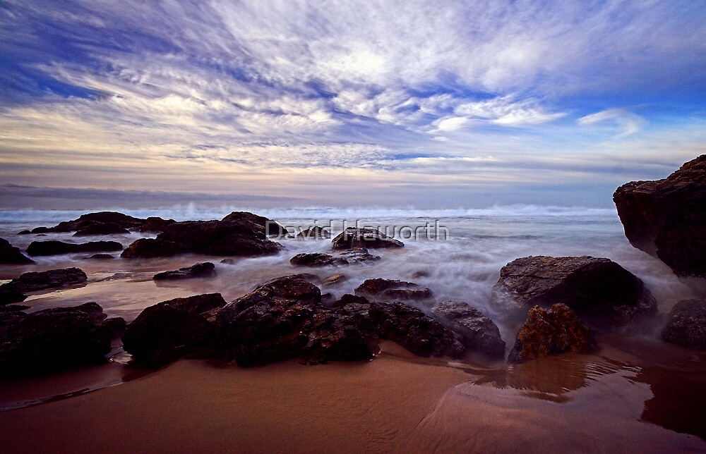 The Boiling Sea and Sky by David Haworth