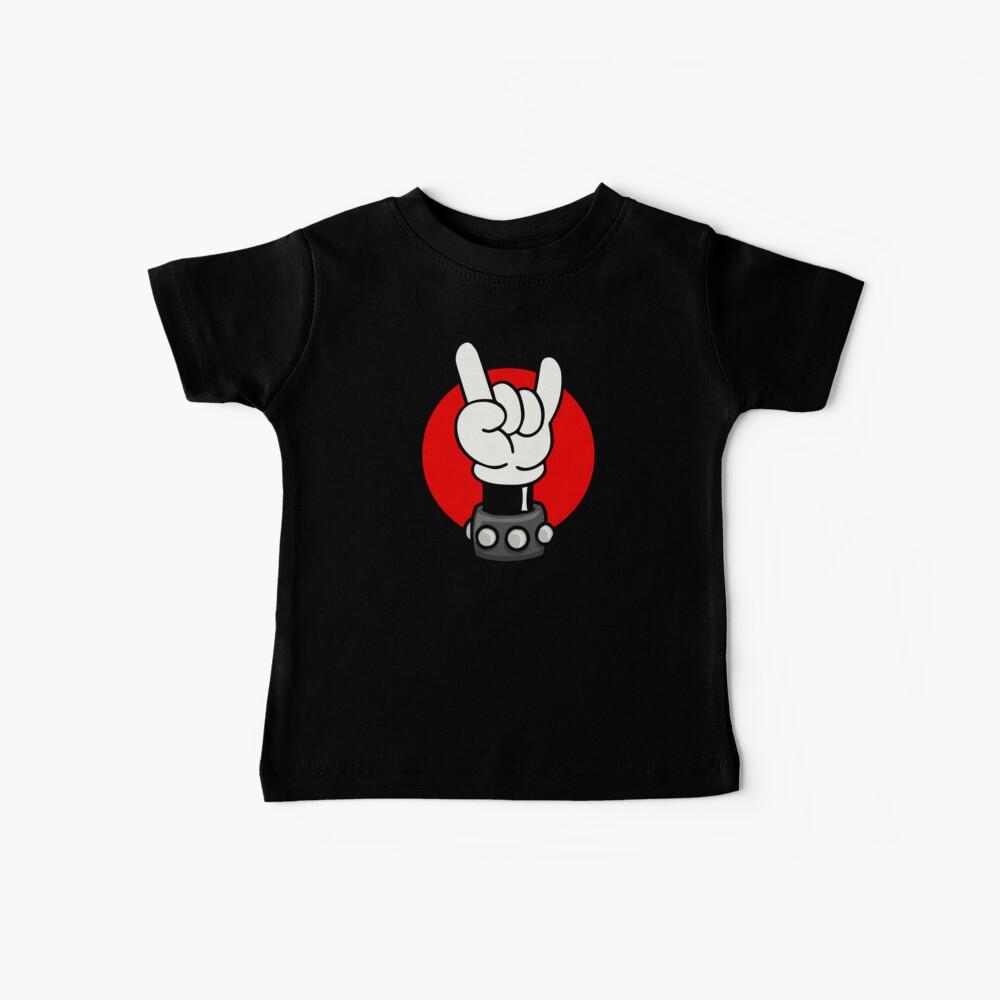 METAL - ROCKER - RATÓN Camiseta para bebés