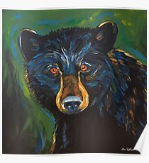 Bear Art from Bear Painting Poster