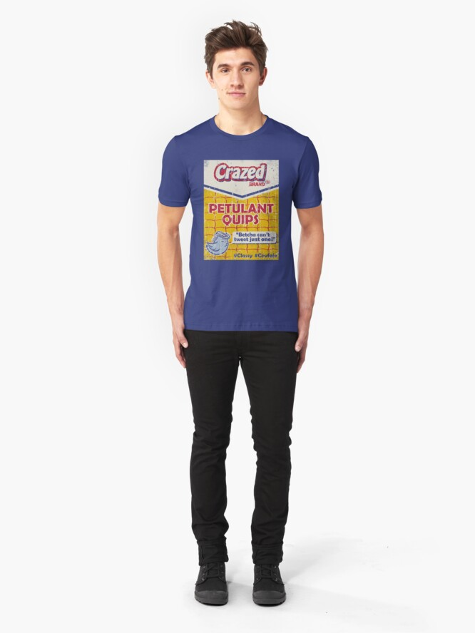 Alternate view of Petulant Quips Slim Fit T-Shirt